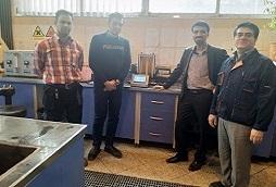 نمونه صنعتی دستگاه آزمایشگاهی اتوماتیک تست ته نشینی در دانشگاه یزد ساخته شد