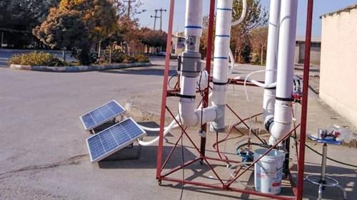 خبر-ساخت دستگاه آب شیرینکن خورشیدی در دانشکده مهندسی مکانیک دانشگاه یزد