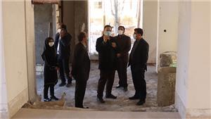 خبر-بازدید رییس دانشگاه یزد از پروژههای عمرانی پردیس فناوری و صنعتی