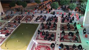 برگزاری مراسم احیای شبهای قدر در محوطه مسجد دانشگاه یزد