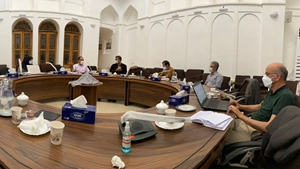 خبر-جلسه هماندیشی مرکز تحقیقات بینالمللی بادگیر دانشگاه یزد برگزار شد