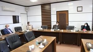 بازدید عضو شورای اسلامی شهر یزد از انجمن دانشآموختگان دانشگاه یزد