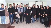 خبر-بازدید جمعی از دانشجویان جمعیت شناسی از اداره ثبت احوال