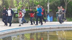 اولین همایش پیادهروی و دوچرخه سواری دانشگاهیان دانشگاه یزد در سال جدید