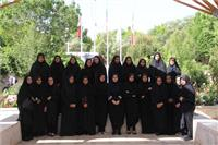 خبر-بازدید علمی جمعی از دانشآموزان دبیرستان بنتالهدی از دانشگاه یزد