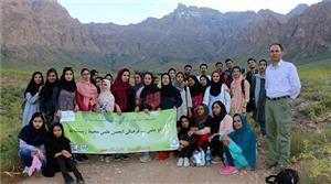 بازدید دانشجویان دانشگاه یزد از منطقه آدرشک