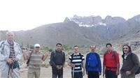خبر-کوهنوردی دانشگاهیان دانشگاه یزد در ارتفاعات برفخانه طزرجان