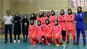 نایب قهرمانی تیم فوتسال دختران دانشگاه در مسابقات جام رمضان استان یزد