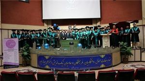 مراسم دانش آموختگی دانشجویان رشته مهندسی برق