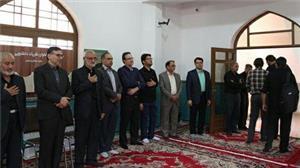 مراسم یادبود مرحوم دکتر کریمی در دانشگاه یزد برگزارشد