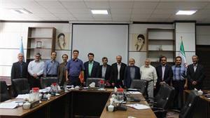 دیدار هیات رییسه دانشگاه یزد با اعضای شورای مرکزی مجمع صنفی هیات علمی