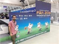خبر-درخشش دانشجوی دانشگاه یزد در مسابقات جهانی رباتیک