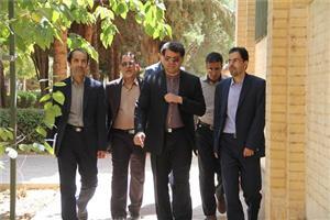 خبر-بازدید سرپرست دانشگاه یزد از پردیس ها و دانشکده های دانشگاه یزد