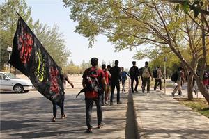 کاروان دانشگاه یزد با 176 دانشجو راهی مراسم اربعین شد