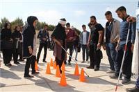 خبر- مشارکت دانشجویان کم بینا و نابینای دانشگاه یزد در برپایی غرفه سلامت روان