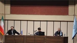 مناظره سیاسی دکتر زیباکلام و دکتر احمد قدیری  برگزار شد