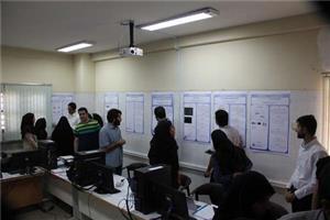 برپایی نمایشگاه روز پروژه گروه مهندسی کامپیوتر در دانشگاه یزد