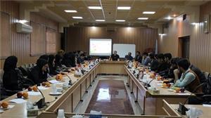 بررسی مسائل آب استان در دانشگاه یزد