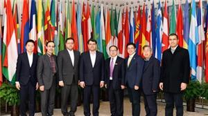 خبر-سفر هیأت استانی یزد به دانشگاه جنوبغرب چین