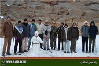 خبر-کوهنوردی اعضای گروه کوهنوردی دانشگاه یزد در مسیر درهگاهان تفت
