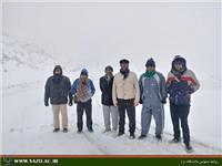 خبر-کوهنوردی گروه کوهنوردی دانشگاه یزد در ارتفاعات سخوید