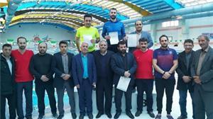 شناگران دانشگاه یزد بر سکوی سوم ایستادند