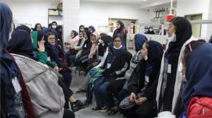 بازدید دانشآموزان دبیرستان ایرانسنجش از دانشگاه یزد
