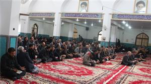 مراسم یادبود دکتر محمد حسین ابویی در مسجد دانشگاه یزد